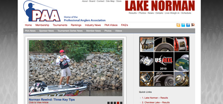 Professional Anglers Association - Main
