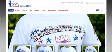 Professional Anglers Association - Store