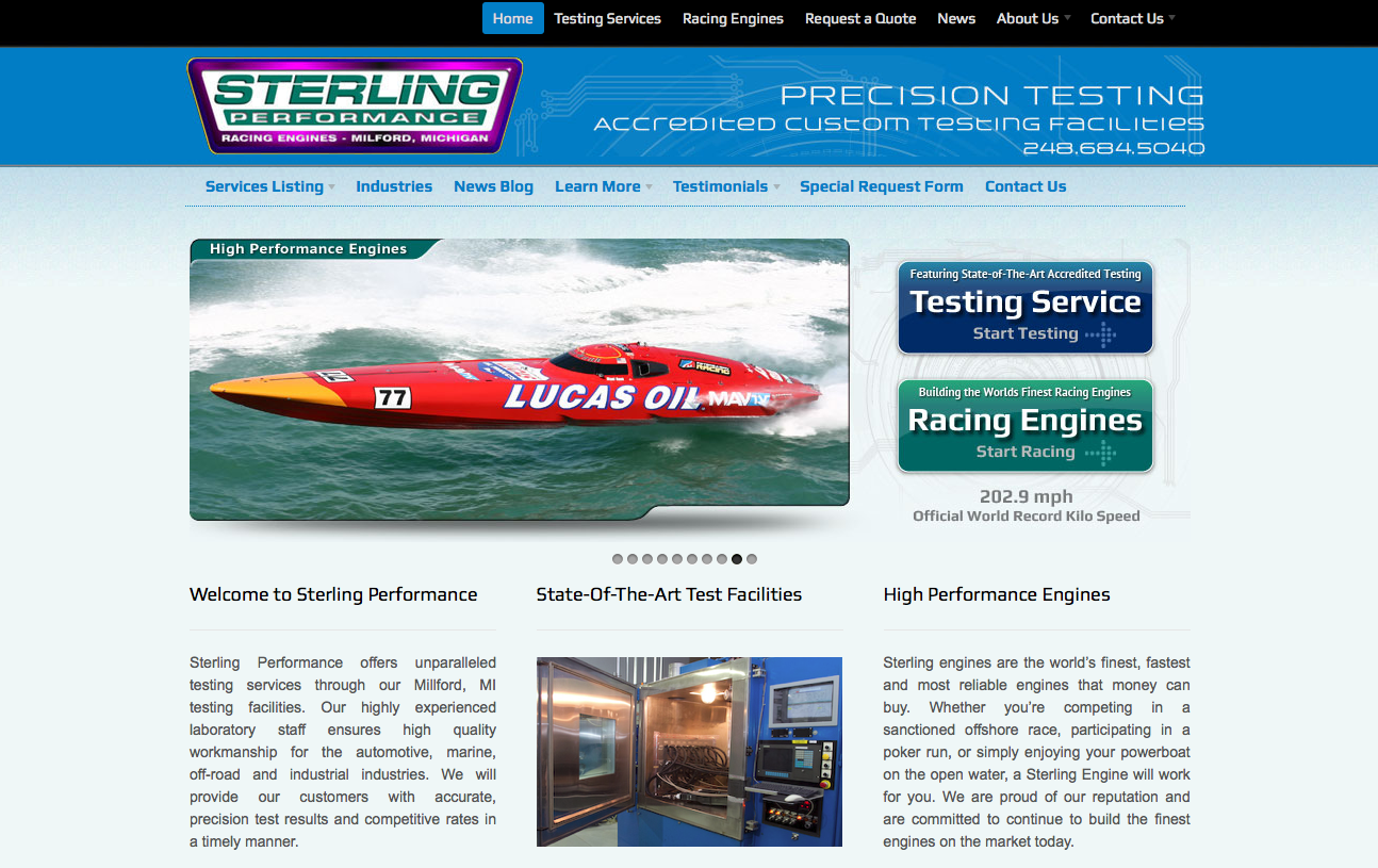 sterlingperformance11 Now Introducing... The New Sterling Performance Website!