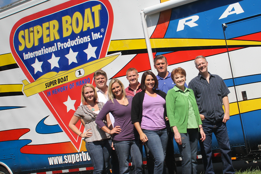 IMG 3264 Super Boat International Visits Cox Group