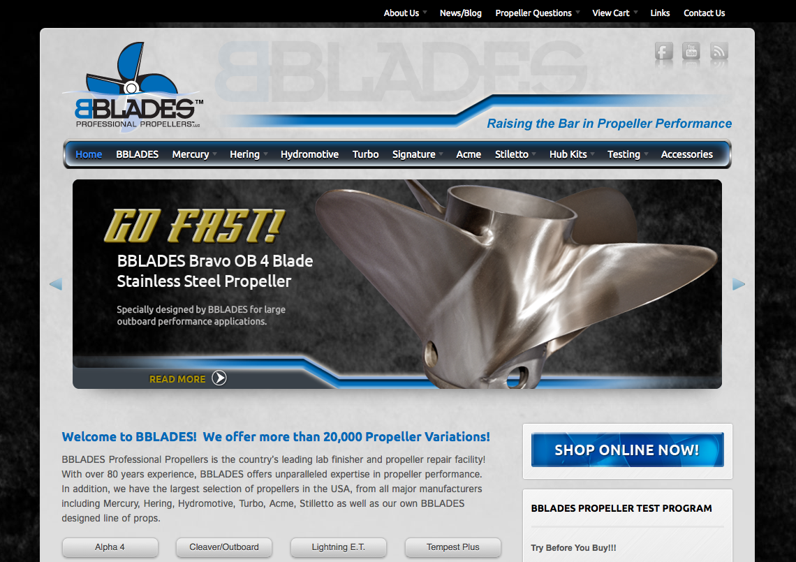 bblades2 Fresh Web Design for BBlades Professional Propellers