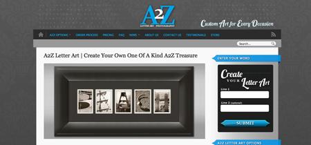 A2Z Letter Art Photography