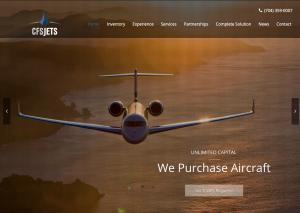 Website Design: CFS Jets